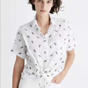 madewell button up top